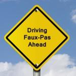 Top driving faux pas in Alaska